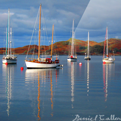 Reflections on Ripples – Crinan Harbour, Argyll, Scotland